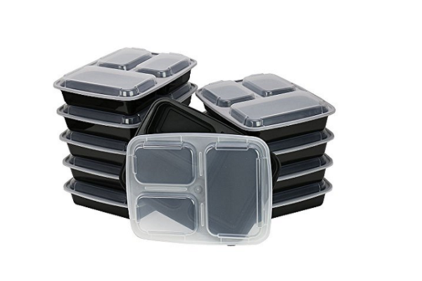 Buy 3-Compartment Food Prep Containers