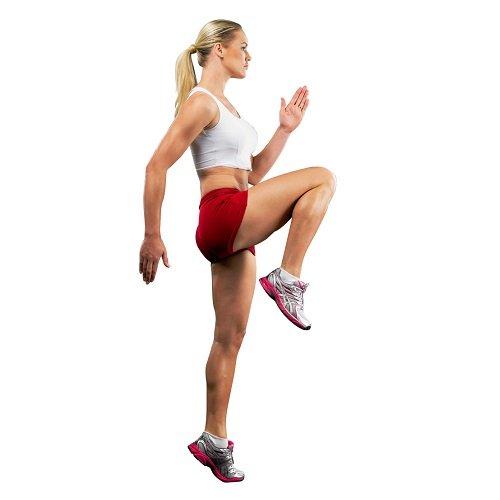 High Knee Running Exercise