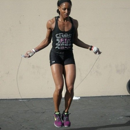 Exercising with Skipping Rope