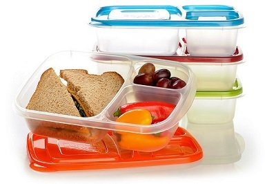 3-Compartment Food Prep Containers