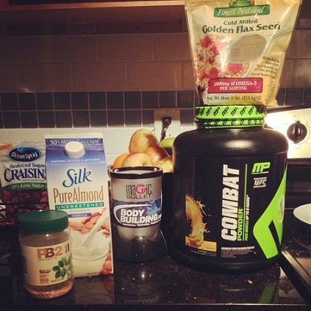 Muscle Pharm's Combat Protein Powder