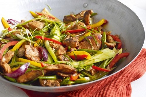 Chicken with Vegetables Stir Fry