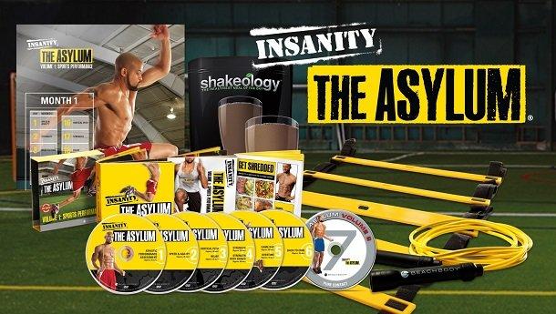 insanity asylum workout