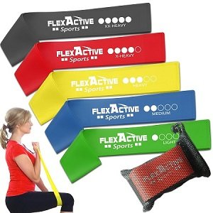 flexactivesports physical therapy bands
