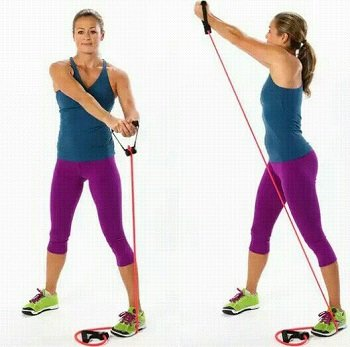 start melting fat with resistance band exercises for