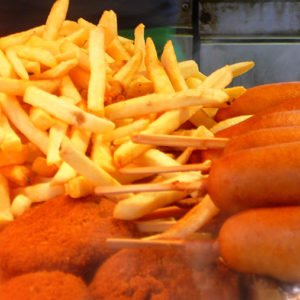 Fried Food At Street Fair