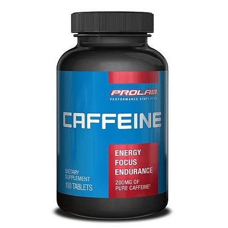 Caffeine Supplement Bottle