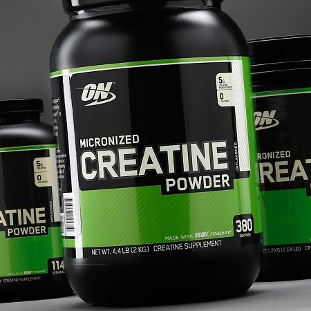 Creatine Powder Bottle