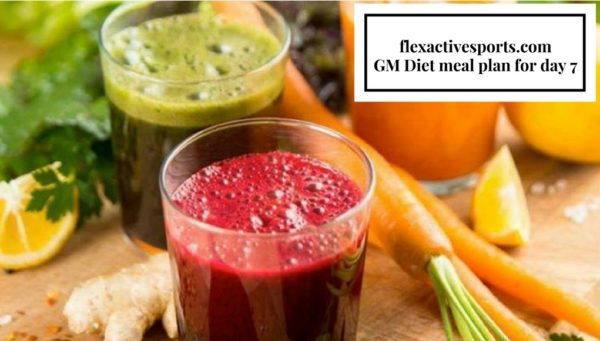 Ultimate guide to the gm diet plan flexactivesports gm diet day 7 ccuart Image collections