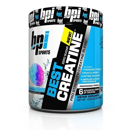 BPI Sports Best Creatine on White Background